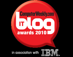ComputerWeekly 2010 blog awards
